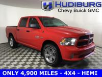 CARFAX One-Owner. Clean CARFAX. Ram 1500 4X4, LOW