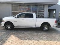 Bright White Clearcoat 2018 Ram 1500 4WD 8-Speed