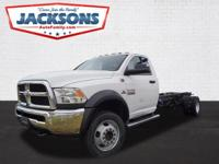 Check out this gently-used 2018 Ram 5500 Chassis Cab we