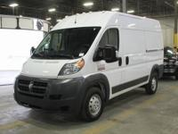 2018 Ram ProMaster 2500 High Roof One Owner, Van life,