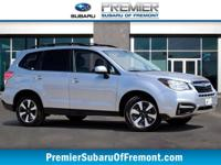 SUBARU CERTIFIED***Forester 2.5i Limited. Silver 2018