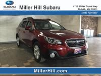 2018 Subaru Outback Premium 2.5L H4 Ready for a new