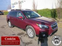 EPA 32 MPG Hwy/25 MPG City! Premium trim, Crimson Red