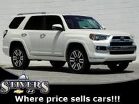 2018 Toyota 4Runner Limited Blizzard Pearl CARFAX