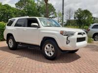 Super White 2018 Toyota 4Runner SR5 Premium 4WD 5-Speed