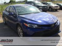 Ash w/Fabric Seat Trim.2018 Toyota Camry LE 4D Sedan