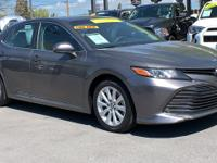 CARFAX One-Owner. Clean CARFAX. Gray 2018 Toyota Camry