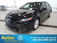 2018 Toyota Camry LE Black FWD 2.5L I4 DOHC 16V 8-Speed
