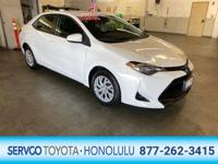 Servco Toyota Honolulu is excited to offer this 2018