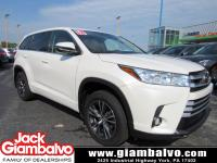 2018 TOYOTA HIGHLANDER LE PLUS ...... ONE LOCAL OWNER