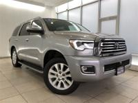 2018 Toyota Sequoia Platinum Gray This pre-owned