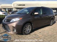 2018 TOYOTA SIENNA XLE 8 PASSENGER-LEATHER INTERIOR