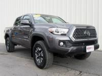 Tacoma TRD Offroad, 4D Double Cab, 6-Speed Automatic,