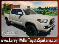 *This 2018 Toyota Tacoma is your ticket to OUTDOORS &