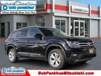 Our One Owner Accident-Free 2018 Volkswagen Atlas SE