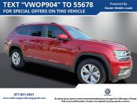 Used 2018 Volkswagen Atlas SE. CARFAX One-Owner. Clean