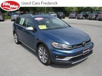 2018 Blue Volkswagen Golf Alltrack 6-Speed DSG