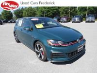 2018 Green Volkswagen Golf GTI 6-Speed DSG Automatic