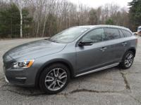 Gray 2018 Volvo V60 Cross Country T5 AWD Automatic with