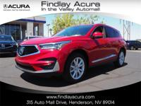 Welcome to Findlay Acura. All of our cars are hand