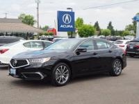 PREMIUM & KEY FEATURES ON THIS 2019 Acura TLX include,