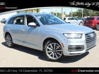 2019 Audi Q7 3.0T PremiumONE OWNER, BACK-UP CAMERA, ALL