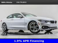 2019 BMW 4 Series 430i located at BMW of Wichita.