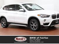 Delivers 31 Highway MPG and 22 City MPG! This BMW X1