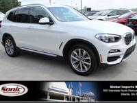 Scores 30 Highway MPG and 23 City MPG! This BMW X3