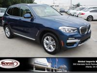 Delivers 30 Highway MPG and 23 City MPG! This BMW X3
