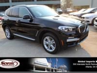 Boasts 30 Highway MPG and 23 City MPG! This BMW X3