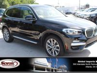 Delivers 29 Highway MPG and 22 City MPG! This BMW X3