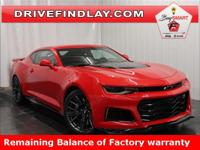 2019 Chevrolet Camaro ZL1 Red Hot Balance of