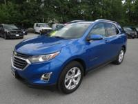 2019 Blue Metallic Chevrolet Equinox 9-Speed Automatic
