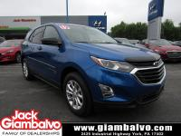 2019 CHEVROLET EQUINOX LS ...... ONE LOCAL OWNER ......