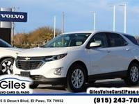Recent Arrival! Summit White 2019 Chevrolet Equinox LT