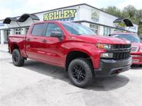 Red Tintcoat 2019 Chevrolet Silverado 1500 Custom Trail