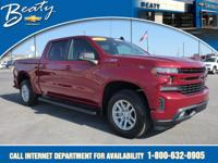 Beaty Chevrolet Company is honored to offer this