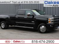 Black 2019 Chevrolet Silverado 3500HD High Country 4WD