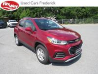 2019 Red Tintcoat Chevrolet Trax 6-Speed Automatic