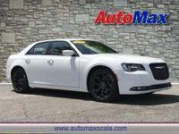 White 2019 Chrysler 300 S RWD 8-Speed Automatic 3.6L V6