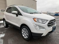 Check out this 2019 Ford EcoSport SE in White with