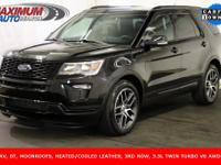 Awesome 2019 Ford Explorer Sport, finished in Tuxedo