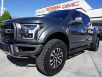 CARFAX One-Owner. Clean CARFAX. 4WD. Gray 2019 Ford