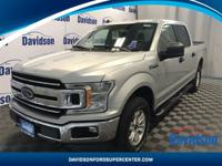 One Owner, F-150 XLT, 4D SuperCrew, 5.0L V8, 10-Speed