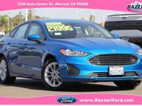 2019 Ford Fusion SE 4D Sedan Blue MetallicEcoBoost 1.5L