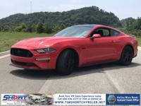 Red 2019 Ford Mustang RWD 5.0L V8 Ti-VCTRecent