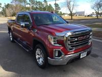 Cardinal Red 2019 GMC Sierra 1500 SLT 4WD 8-Speed