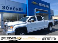 CARFAX One-Owner. Summit White 2019 GMC Sierra 2500HD
