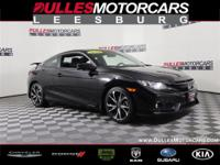 Black w/Cloth Seat Trim. 2019 Honda Civic Si 2019 Honda